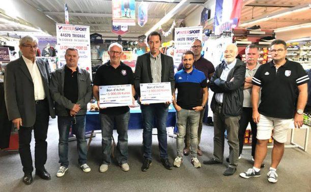 Partenariat Intersport   2 clubs nazairiens récompensés ! 83561663b2a